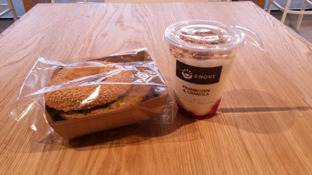 Ontbijt bij Enoki, Utrecht CS