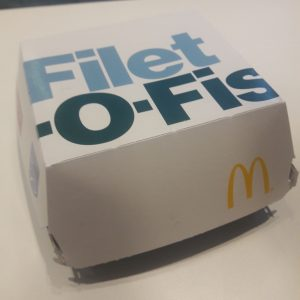 McDonald's Filet-O-Fish verpakking