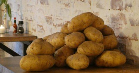 Flinke aardappels van Jacketz