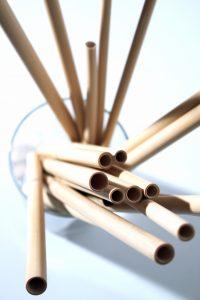 De Bamboe rietjes van WeUseBamboo. Foto: WeUseBamboo