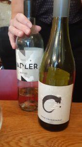 Deze Zeigelt rosé won het voor mij bij de chicken melt met groene kruiden van de C pour Chardonnay