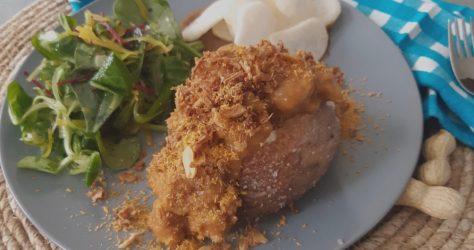 Baked Potato Jakarta. Een recept met gepofte aardappel van FeedMe.blog