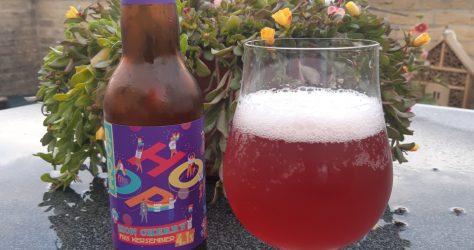 Brouwerij Hoop - Mon Cherry Fris Kersenbier in glas